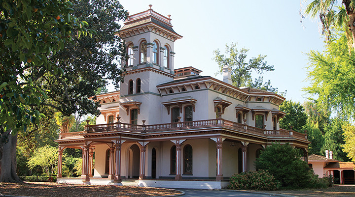 Bidwell Mansion Downtown Chico Ca