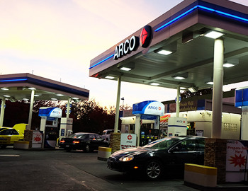 Arco Gas Station Automotive Downtown Chico Ca