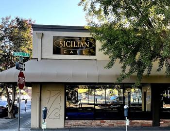Sicilian Café Dine Drink Restaurants Downtown Chico Ca
